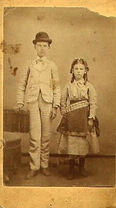 Kunger or Allan Mystery Children, Front