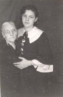 Lorraine Lucas and Margaret Garabrandt