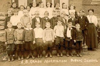 Morrilton Public School 1b 1908