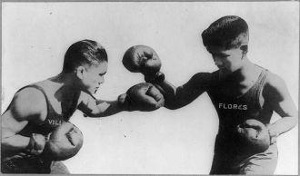 Pancho Villa, boxer