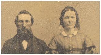 Thomas and Nancy Brown, mid-19th c.