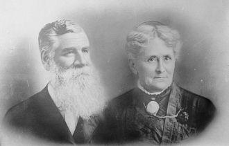 John & Cornelia (Lenzi) McAllister, UT 1890