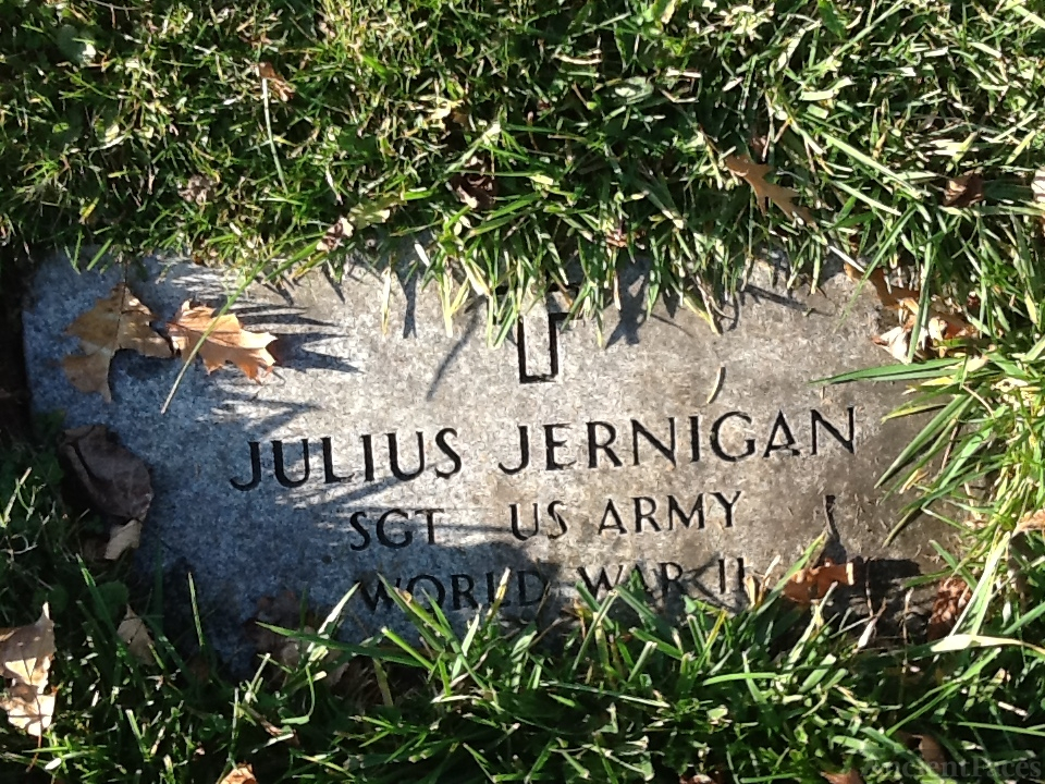 Julius Jernigan gravesite
