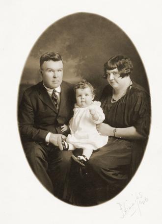 Everett, Gladys, and Warren Van Kleeck