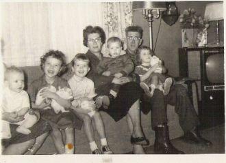 Clara Winslow Scott & Steve Scott & McMillan childre