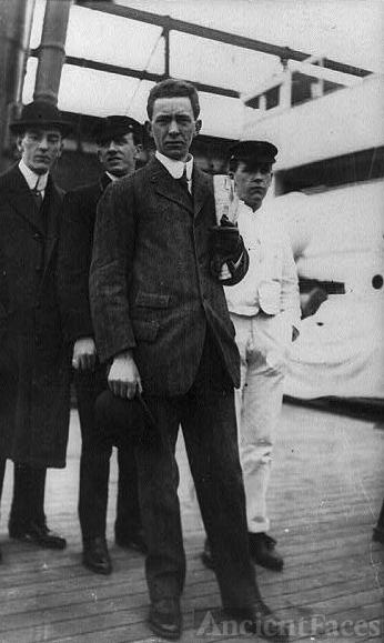 Titanic Survivor Stuart Collett on the Carpathia