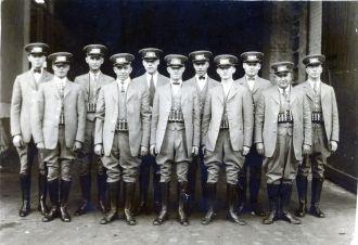 Kansas City Bus Drivers, ca 1929
