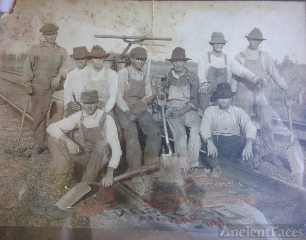Old railroad picture