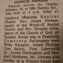 Charlie Johnson obituary