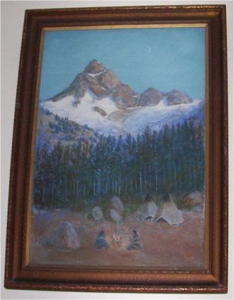 Sioux Camp 1921