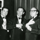 Regis Philbin, Joey Bishop, and Jack Benny