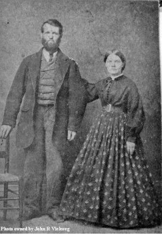 James F. & Sarah E. (Clotfelter) Hutchison