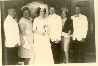 John Paul Bianco to Margaret Linda Farina 1964