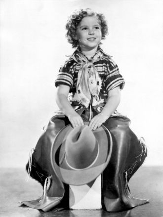 Shirley Temple as a Cowgirl