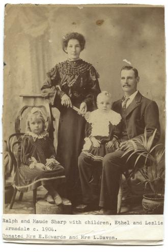 Ralph & Ethel Maud Sharp family