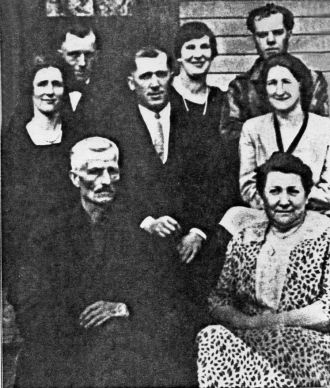 George & Chloe (Reed) Branson Family