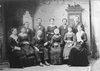 Jan Van Arkel family