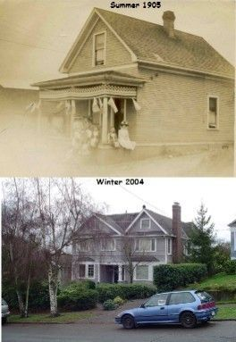 Croft Home Then & Now