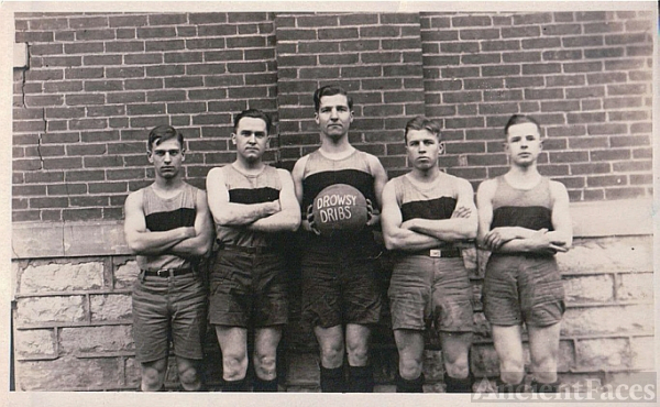 North Manchester College Basketball 1927