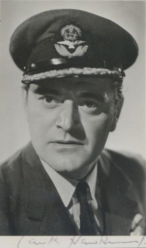 Hawkins played military men.