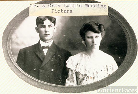 Hyram Matthew & Lela Belle (Lett) Barker