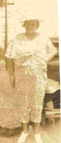 Great Grandma Leslie