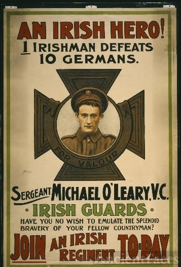 An Irish hero!