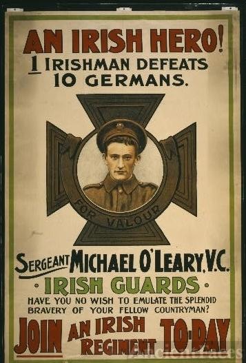 An Irish hero!