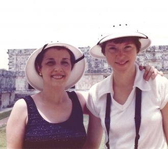 Naomi Thomas and Amanda Stevenson