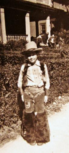 Young 1940's Cowpoke
