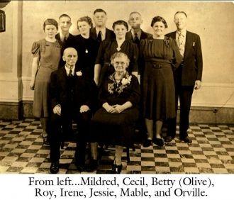 Charles Elmer Munson and Family