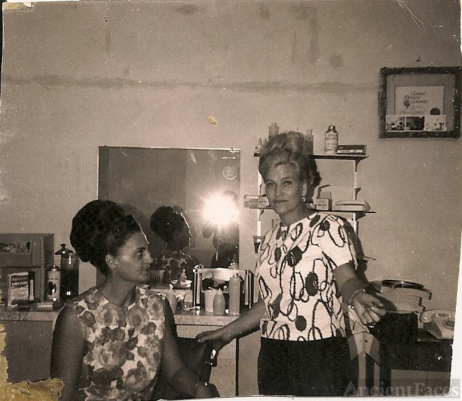 Inez Fullwood & Doris (Fullwood) Draper, Florida