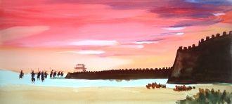 Dong Kingman's painting
