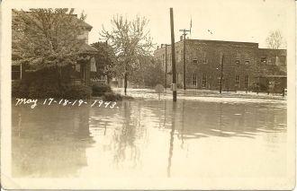 Wabash River Flood 1943