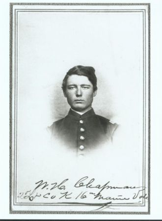 Wilmot Henry Chapman, Civil War