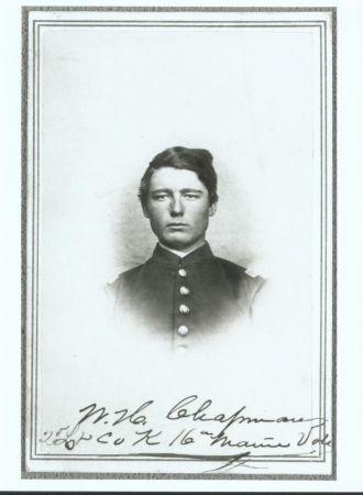 Wilmot Henry Chapman, Civil War