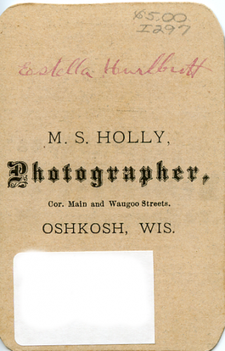 Orea Estella (Hurlbutt) Sanford