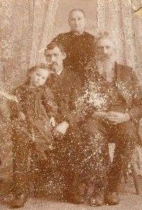 Hugh Rysley, wife Rebecca, Son William, Granddaughter Edna