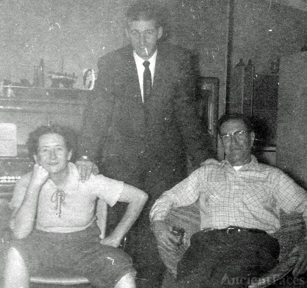 Connie D'Albert, Frank Kroetsch, Dewey D'Albert