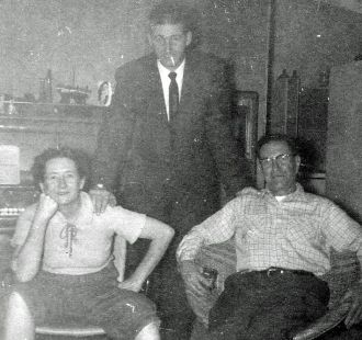 Connie D'Albert, Frank Kroetsch, Dewey D'Albert