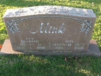 Steven & Hannah Mink gravesite
