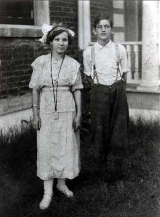 Gladys Crow and Vivian Marshall Champion