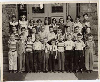Grade school picture, Scranton Pa