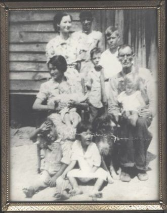 My Grandfather John Wesley Dean and Family