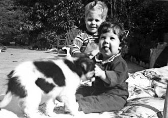 Ray Martin Fitch II & Karen Lynn Fridley 1959