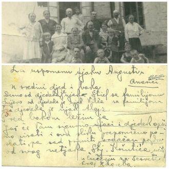 Topolovec family postcard 2