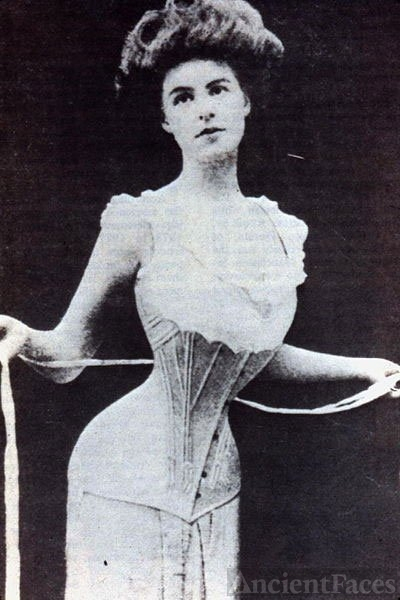 Flat Fronted Corset