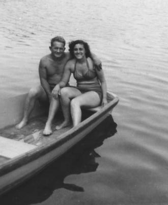 Johannes Olsen with Grace Svendsen