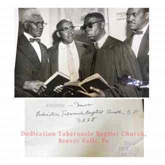 """Dedication Tabernacle Baptist Church"""