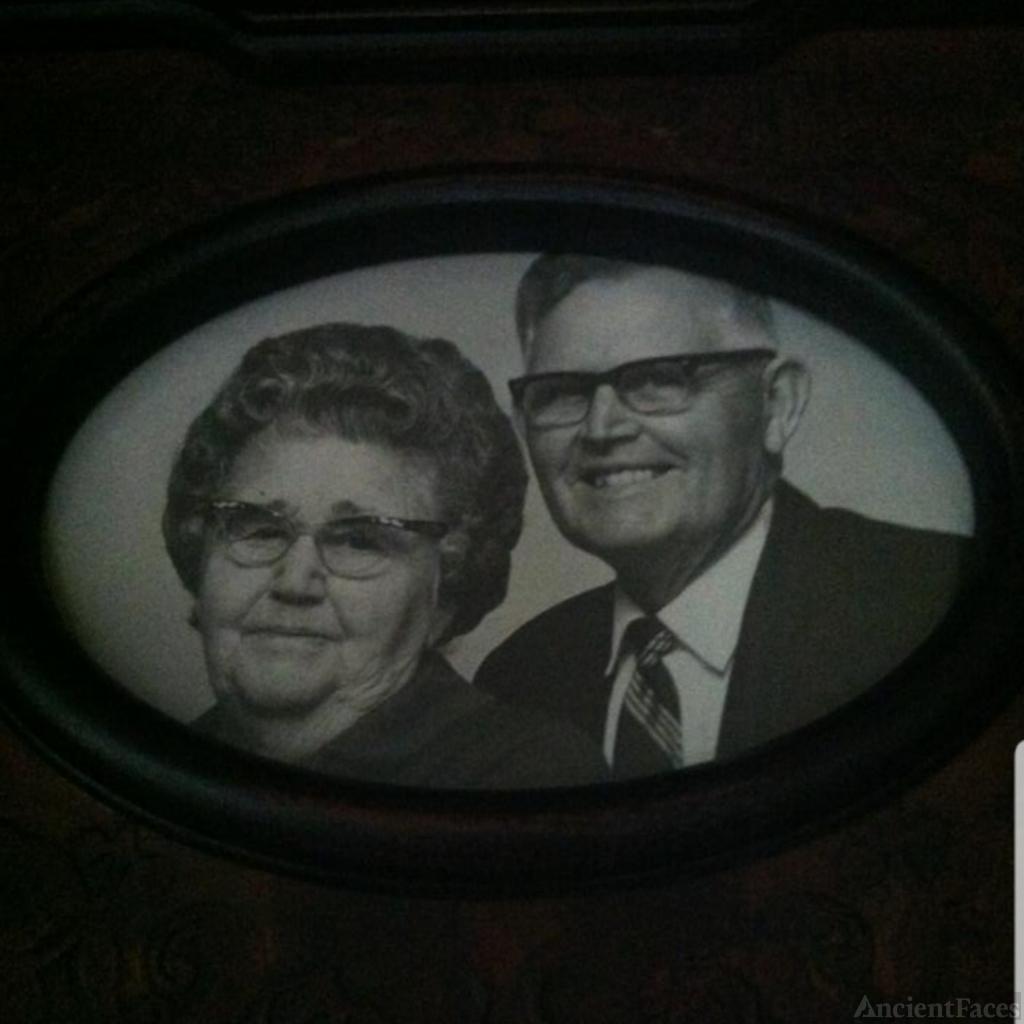Hettie Estelle (Gann) Godwin & Her Husband Teddy Fay Godwin